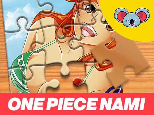 Play One Piece Nami Jigsaw Puzzle