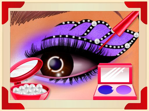 Невероятное искусство глаз принцессы 2