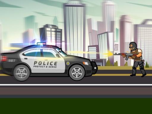 Городские полицейские машины