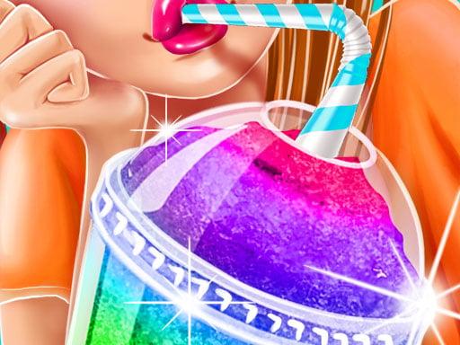 Play Ice Slushy Maker Rainbow Desserts