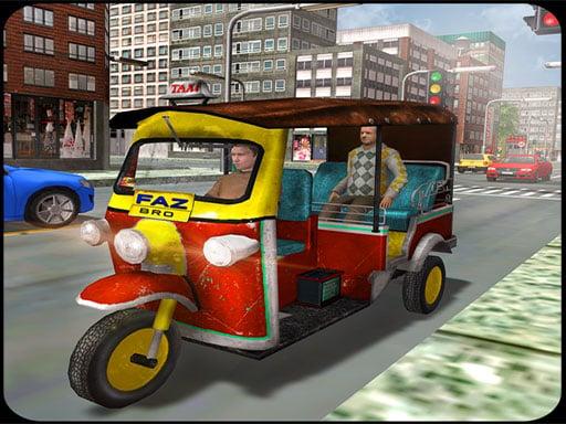 Туристическое такси: симулятор вождения тук-тук