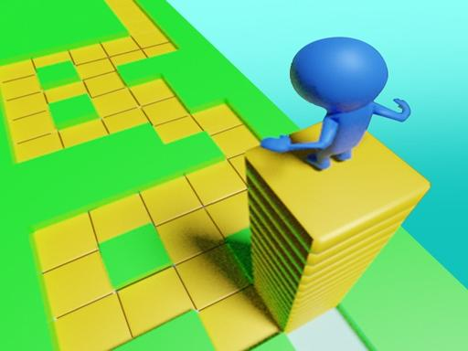 Stacky Jump Maze - Game online
