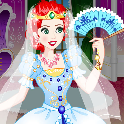 Brave Princess Wedding Dress up
