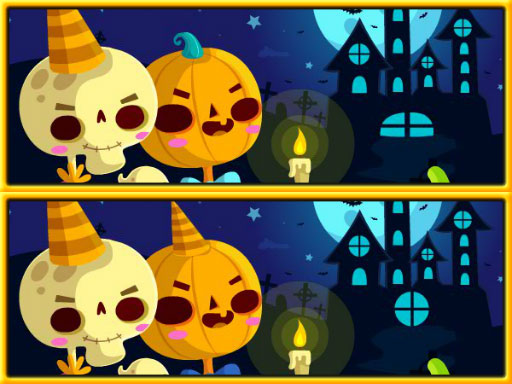 Find Differences Halloween