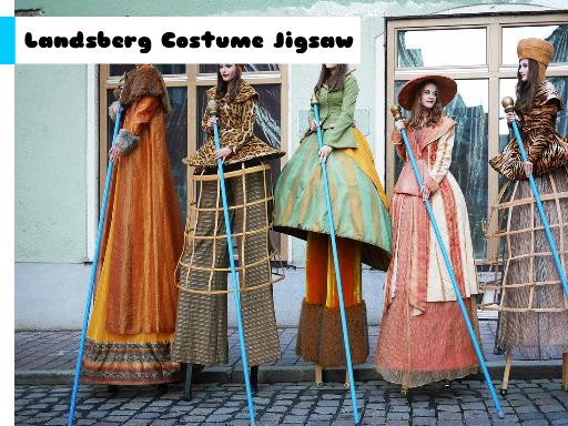 Landsberg Costume Jigsaw