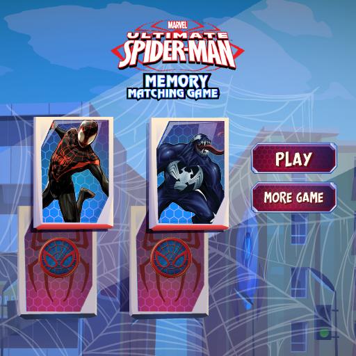Spiderman Memory -Brain Puzzle Game