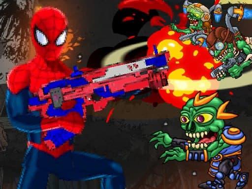 Человек-паук-командир – стрелялка