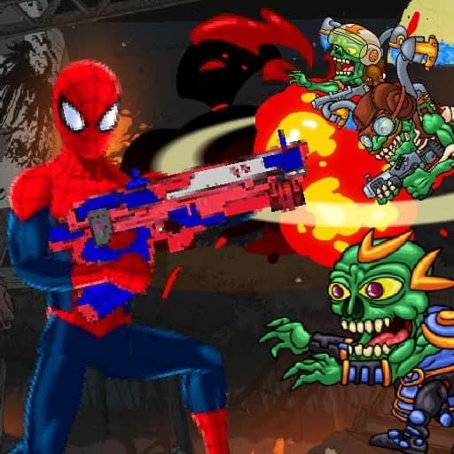 Spiderman Commander - Shooting Game