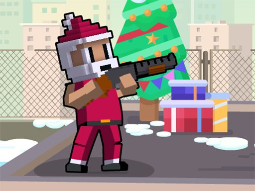 Play Xmas Rooftop Battles Online