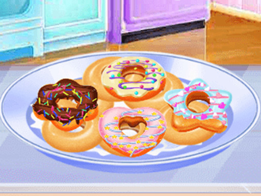 Play Donuts Cooking Challenge