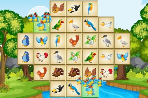Birds Mahjong Deluxe