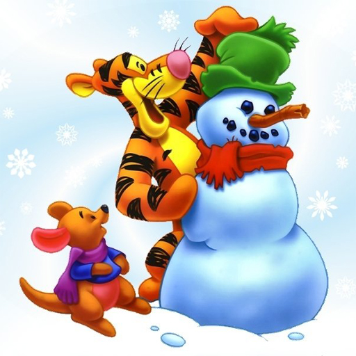 Winnie the Pooh Christmas Jigsaw Puzzle
