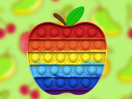 Fruits Pop It Jigsaw