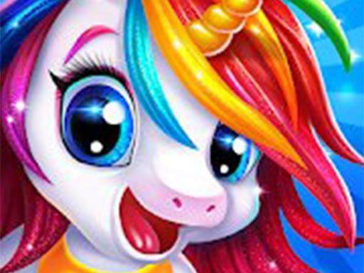 Play Unicorn Make up Girl