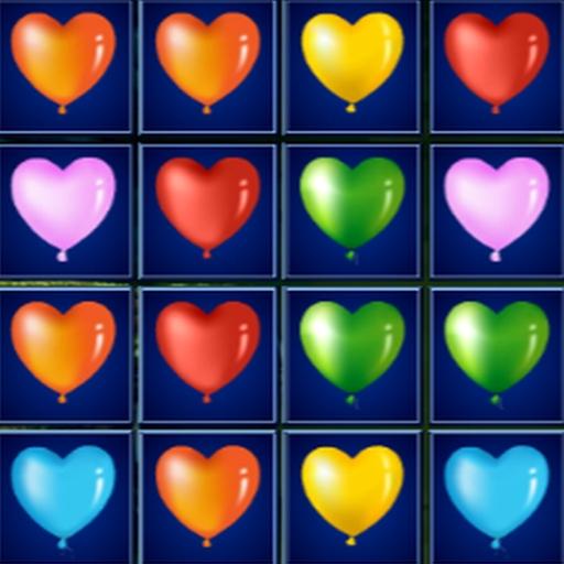 Heart Balloons Block Collapse