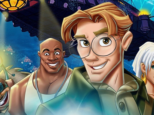Play Atlantis The Lost Empire Jigsaw Puzzle Collection