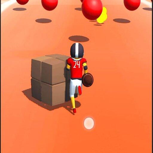 Rugby Ball Runner