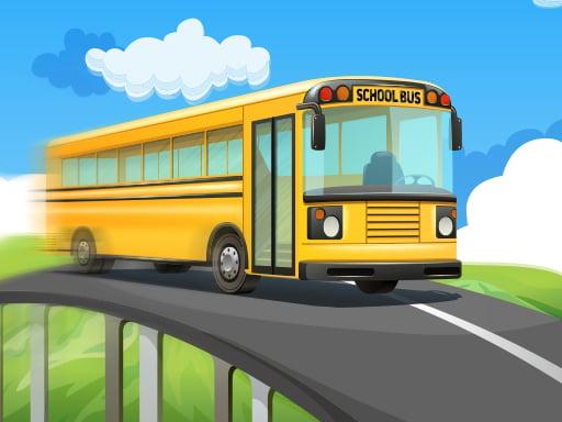 Гонки на школьных автобусах