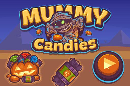 Mummy Candies | Fullscreen HD Game