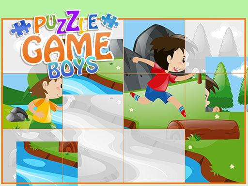 Play Puzzle Game Boys - Cartoon