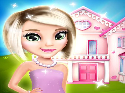 Украшение кукольного дома игра онлайн