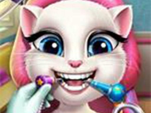 Анджела настоящий дантист – игра о хирургии