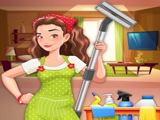 Игра по уборке дома