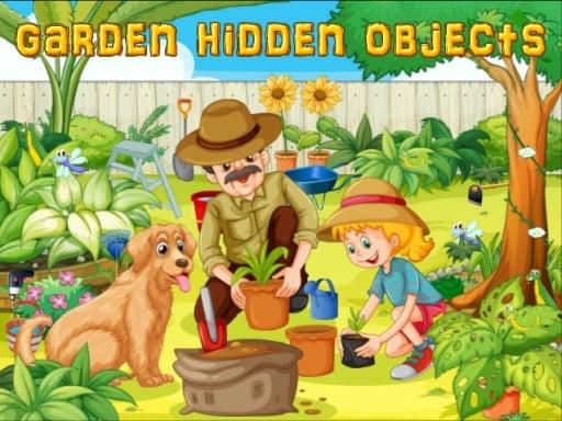 Поиск предметов в саду