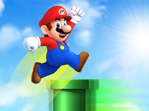 Супер Марио прыжок по стеку
