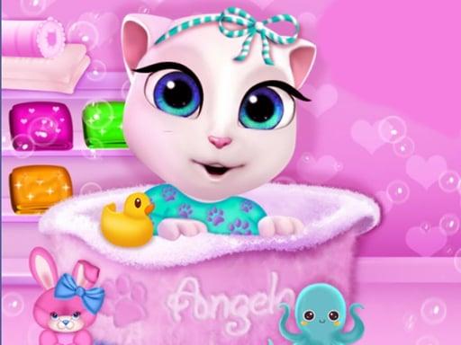 Play Baby Angela Bathing Time