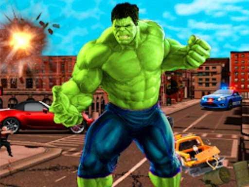Incredible City Monster Hunk Hero Survival