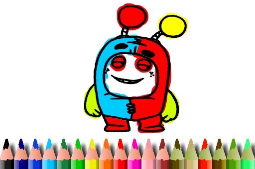 BTS OddBods Coloring Book