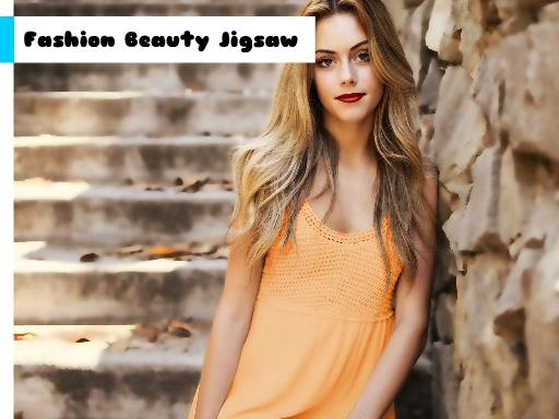 Fashion Beauty Jigsaw