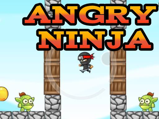 Angry Ninja - Popular Games - Cool Math Games