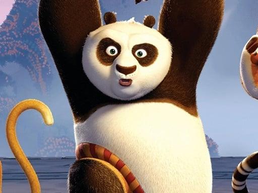Коллекция пазлов кунг-фу панда