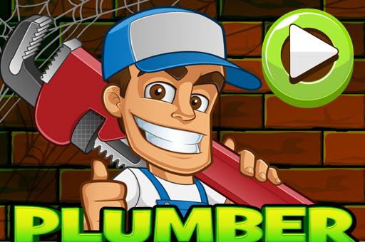 The Plumber Game - Mobile-friendly Fullscreen