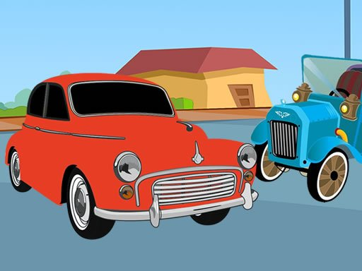 Play Old Timer Cars Coloring Online