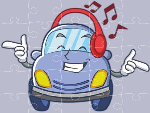 Smiling Cars Jigsaw (пазлы Улыбающиеся Автомобили)