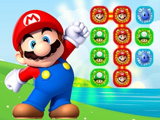 Super Mario Connect Puzzle