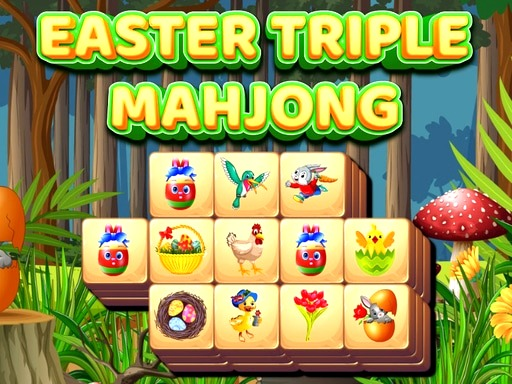 Easter Triple Mahjong