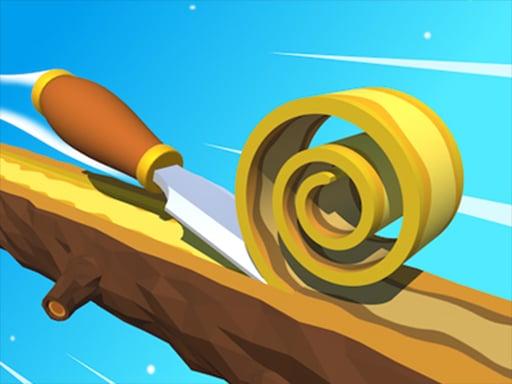 Деревянная спираль