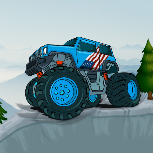 Monster Truck Mountain Climb