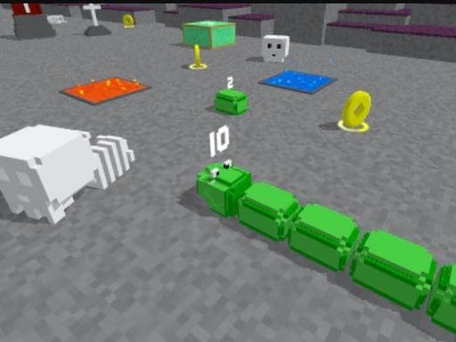 Slither Blocky Snake 3D