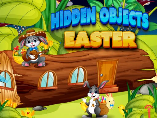 Play Hidden Object Easter Online