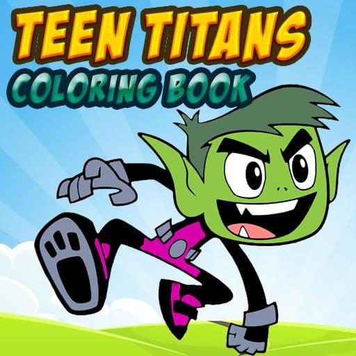 Teen Titans Coloring Book