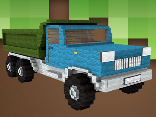 Play Minecraft Truck Jigsaw Online