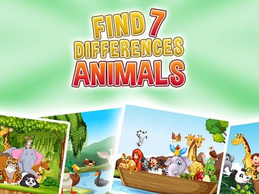 Найди 7 отличий – Животные