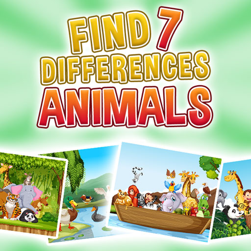 Find 7 Differences -Animals