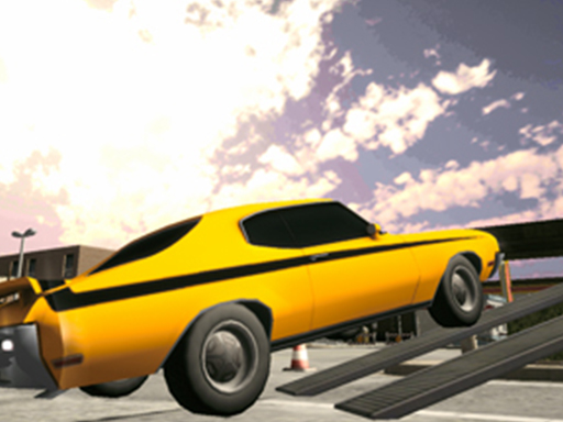 Backyard Car Parking Simulator