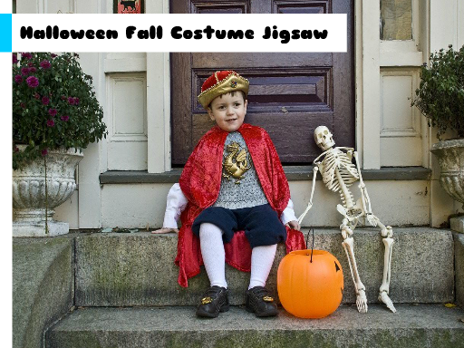 Halloween Fall Costume Jigsaw